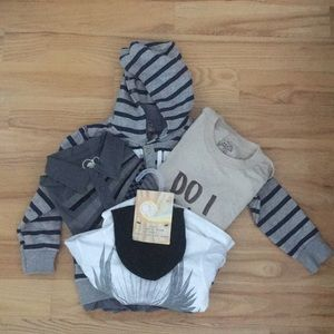Boys Clothing Lot 4 pieces Sizes 3T 3-4 4-5